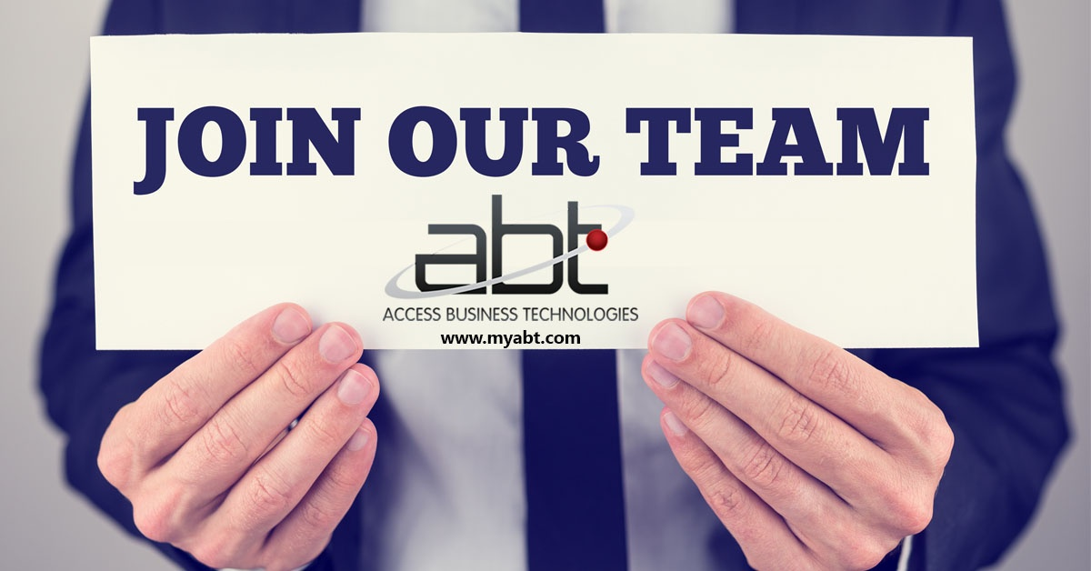 Need a job or want to change careers? ABT is hiring!