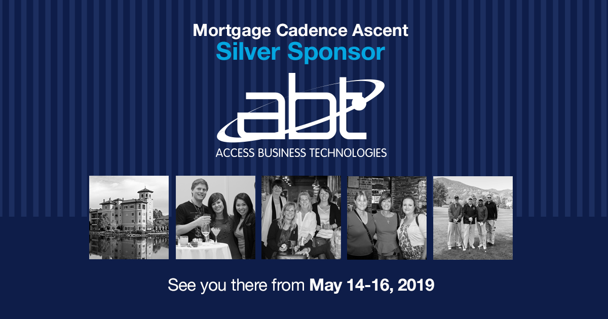 ABT to Attend the 2019 Ascent Mortgage Cadence User Conference